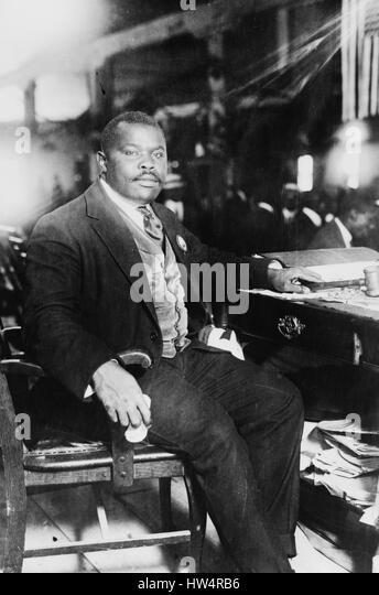 MARCUS GARVEY (1887-1940) Jamaican politician - Stock-Bilder