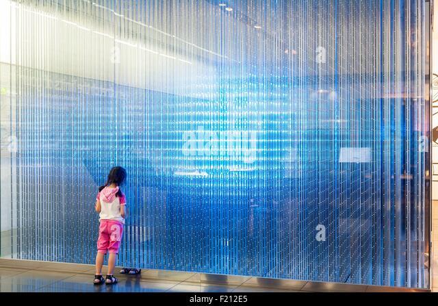 South Korea, Seoul, Seocho-gu, Samsung Iight, showroom of the Korean brand Samsung - Stock Image