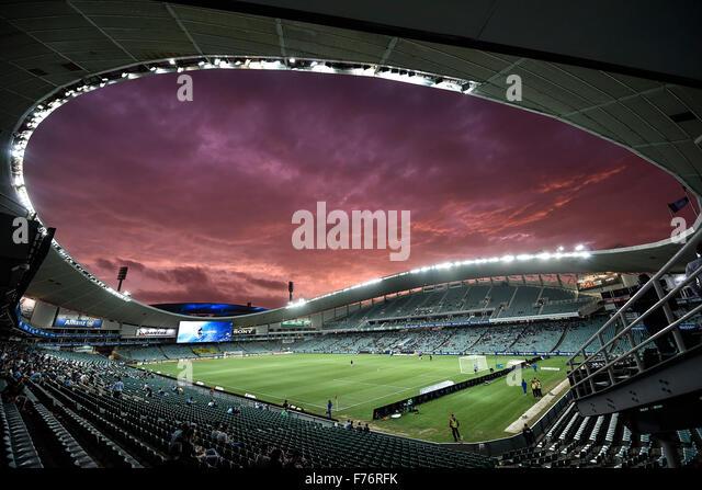 Allianz Stadium, Sydney, Australia. 26th November, 2015. Hyundai A-League. Sydney versus Wellington Phoenix. A spectacular - Stock-Bilder