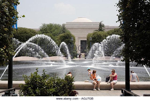 National Gallery Of Art Sculpture Garden Washington Stock Photos National Gallery Of Art