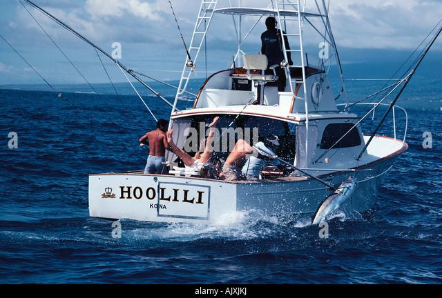 Marlin fisherman stock photos marlin fisherman stock for Fishing boat games