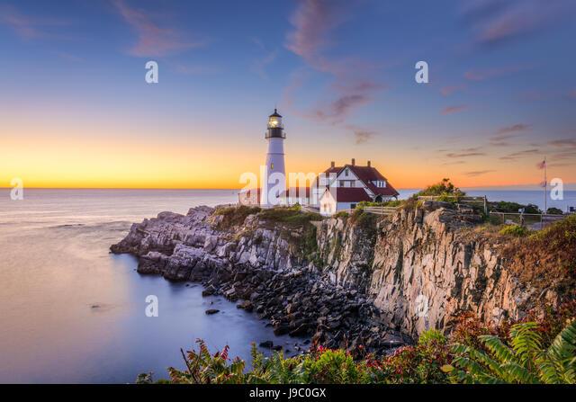 Portland Harbor Maine Stock Photos & Portland Harbor Maine Stock Images - Alamy
