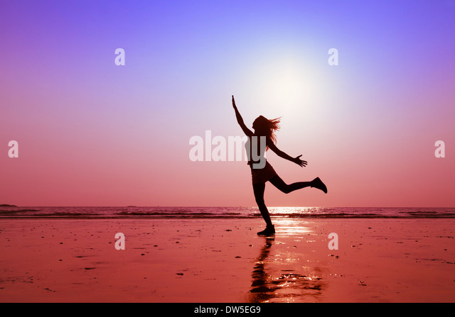 happy people, concept of healthy lifestyle - Stock Image