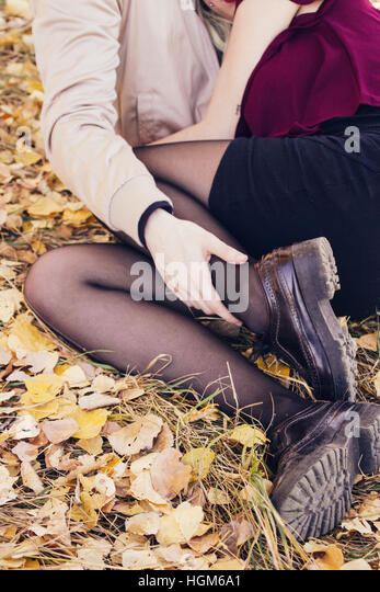 Young couple together - Stock Image
