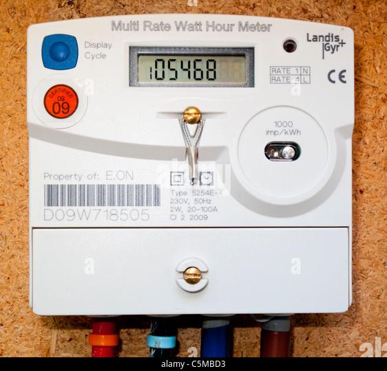 Electricity Meter Uk Stock Photos Amp Electricity Meter Uk