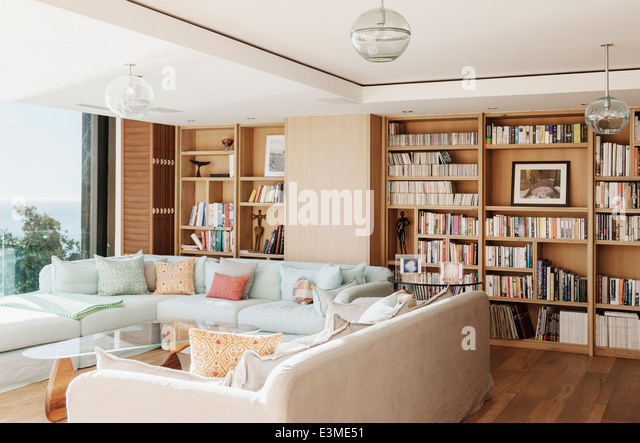 sunny living room sitting room and book shelf stock photos amp sitting room 11030