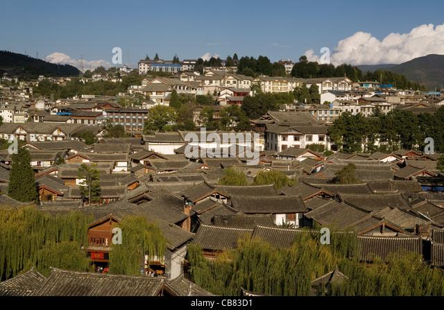 China Yunnan Lijiang old town - Stock-Bilder