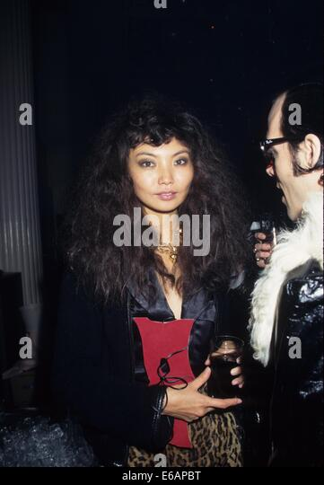 IRINA PANTAEVA.David Lachapelle's Book party Lachapelle Land at Waldorf Astoria New York 1996.k6763Hmc.(Credit - Stock Image