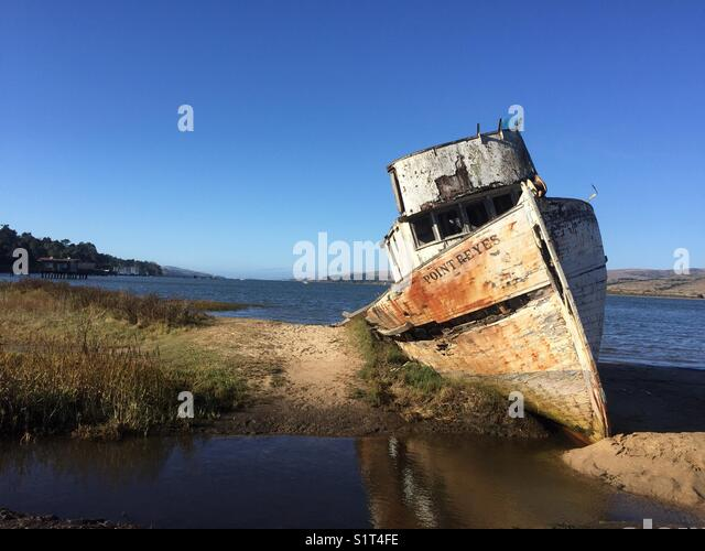 The Point Reyes on Tomales Bay - Stock Image