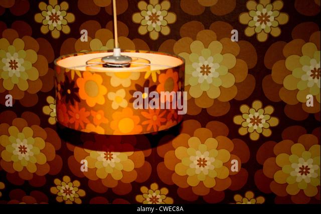 retro,lamp - Stock Image
