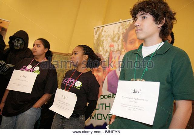 Miami Florida Leadership Training Conference DFYIT Drug Free Youth In Town anti addiction nonprofit organization - Stock Image
