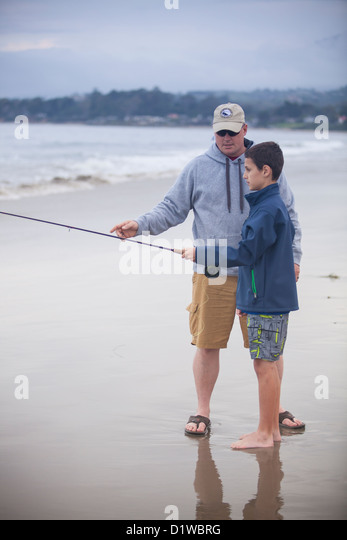 Sea fishing teaching stock photos sea fishing teaching for Santa barbara fishing