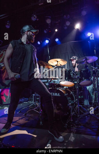 Darkology performing live on stage live at Paradise Garage  Featuring: Kelly Sundown Carpenter,Brian Harris Where: - Stock Image