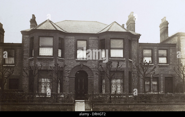 Eltham, London - Victorian Residence - Stock Image