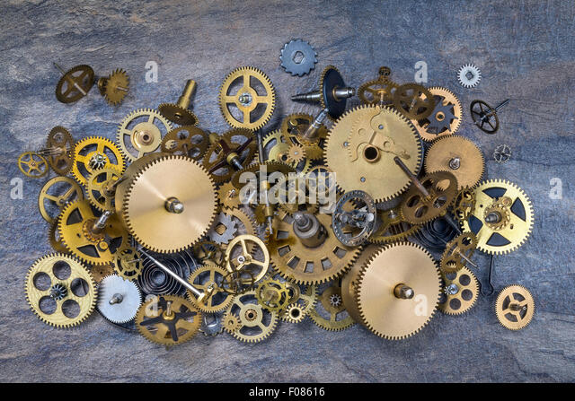 Hq Old Machinery Parts : Dusty machinery stock photos