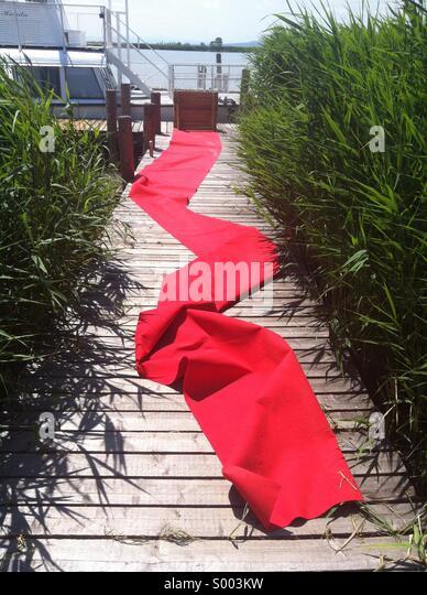 red carpet - Stock-Bilder
