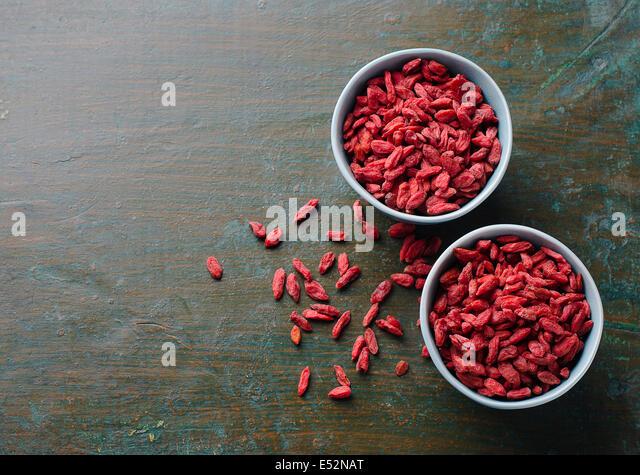 Goji berries - Stock Image