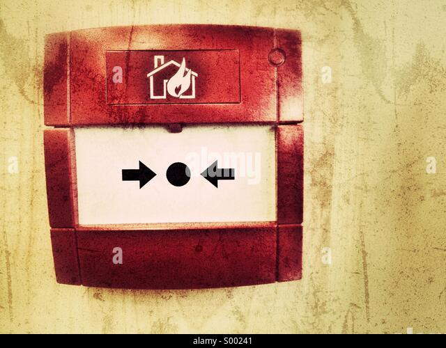 Fire alarm - Stock Image