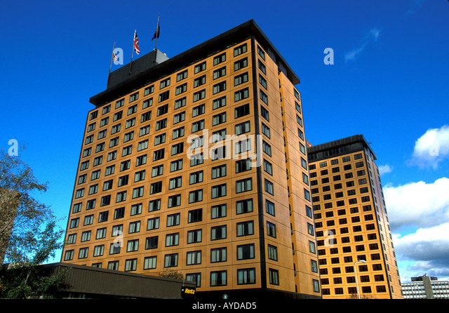 Alaska Anchorage Captain Cook Hotel - Stock Image