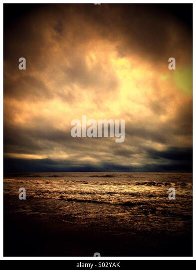 Cyclone Ita is closing in, North Queensland , Australia , 11 April 2014 - Stock Image
