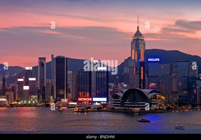 Exhibition Booth Contractor Hong Kong : Wanchai stock photos images alamy