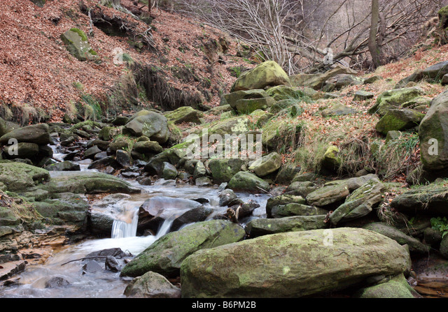 Little stream between Osmotherley and Hawnby - Stock Image