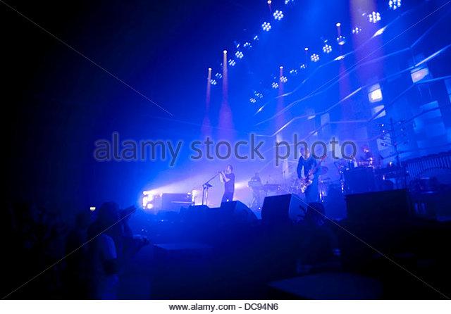 atom for peace 3 Concert 07/10/2013 - Stock-Bilder