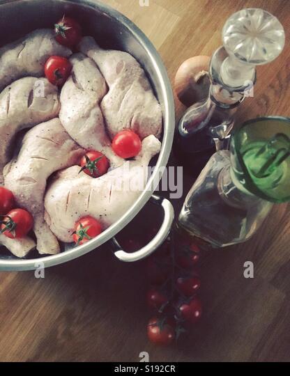 Chicken bake - Stock-Bilder