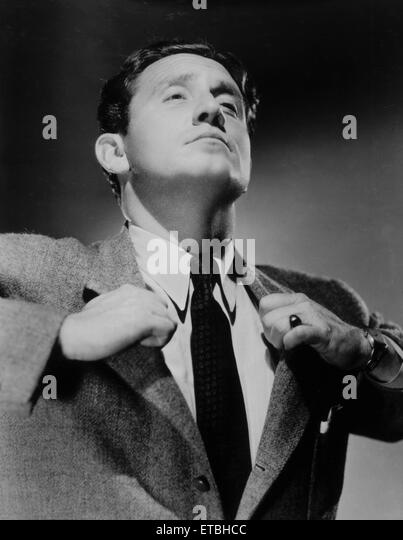 Actor Spencer Tracy, Publicity Portrait, circa 1930's - Stock Image