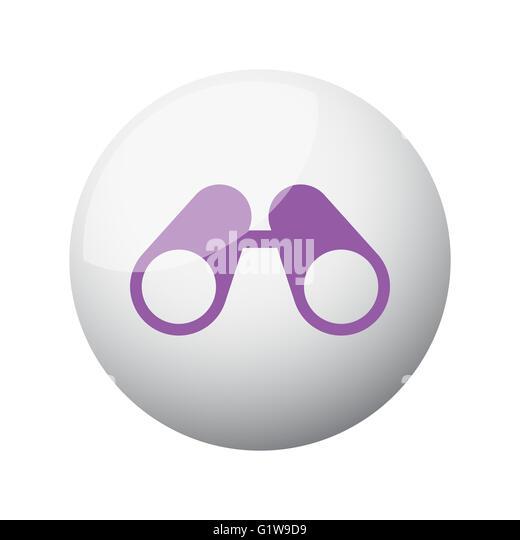 binoculars icon flat - photo #12
