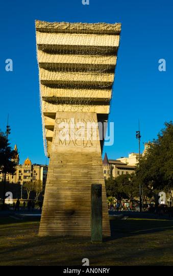 Artwork public outdoor sculpture stock photos artwork - Placa kennedy barcelona ...