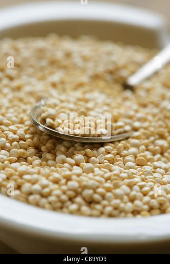 Golden lentils - Stock Image
