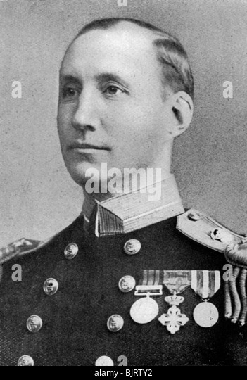 Commander Sir Charles R Blane, British sailor, c1920. - Stock Image
