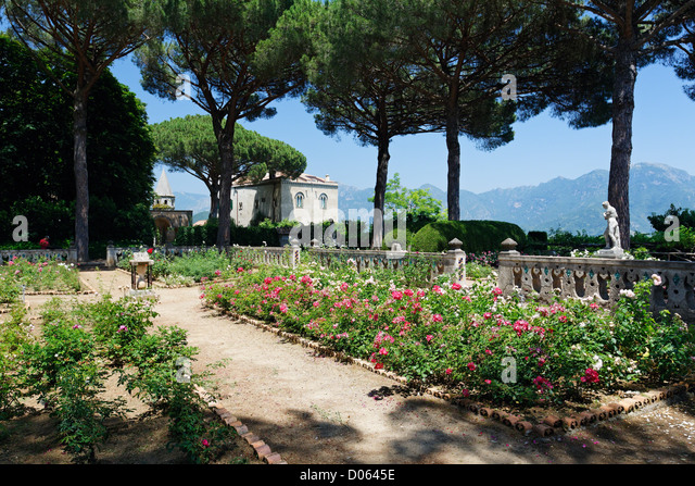 Villa Cimbrone In Ravello Stock Photos Villa Cimbrone In