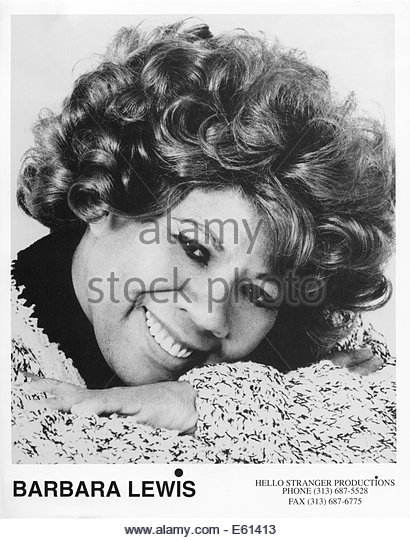 BARBARA LEWIS, circa 1970s. Courtesy Granamour Weems Collection.  Editorial use only. - Stock Image