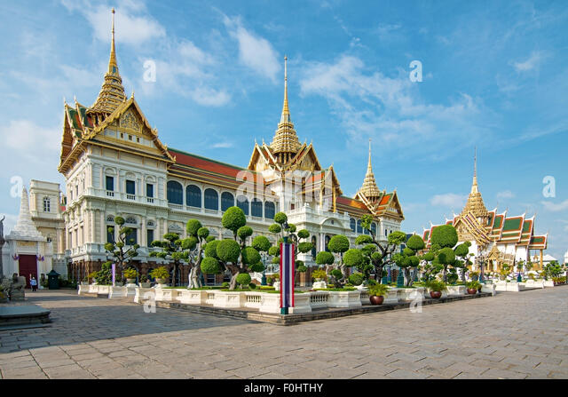 Royal grand palace in Bangkok, Asia Thailand - Stock-Bilder