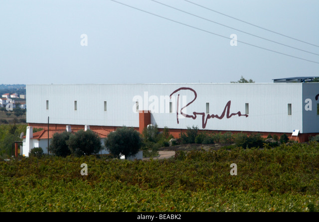the winery roquevale alentejo portugal - Stock Image