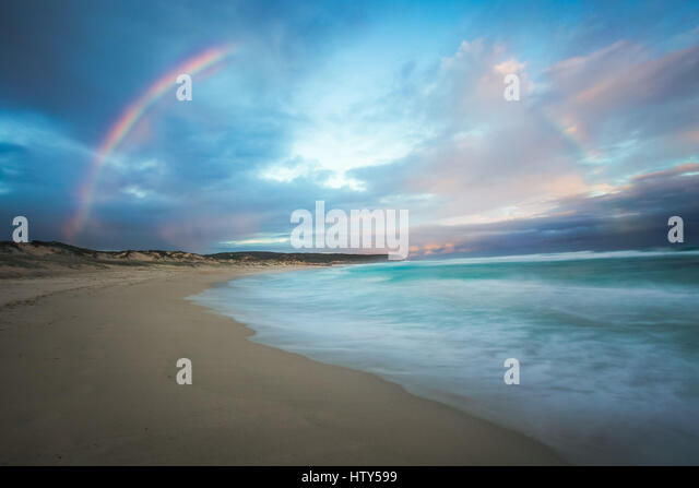 Rainbow - Kangaroo Island, South Australia - Stock-Bilder