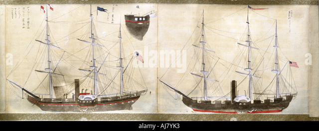 Commodore Perry Japan Stock Photos & Commodore Perry Japan ...