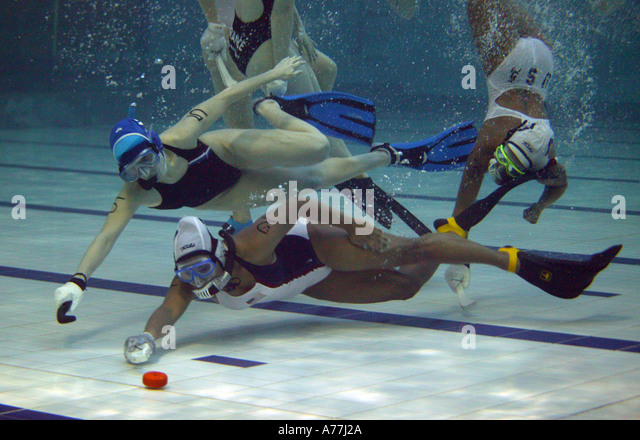 Underwater hockey logo