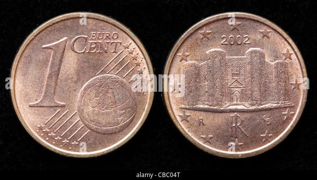 italian euro coin stock photos italian euro coin stock. Black Bedroom Furniture Sets. Home Design Ideas