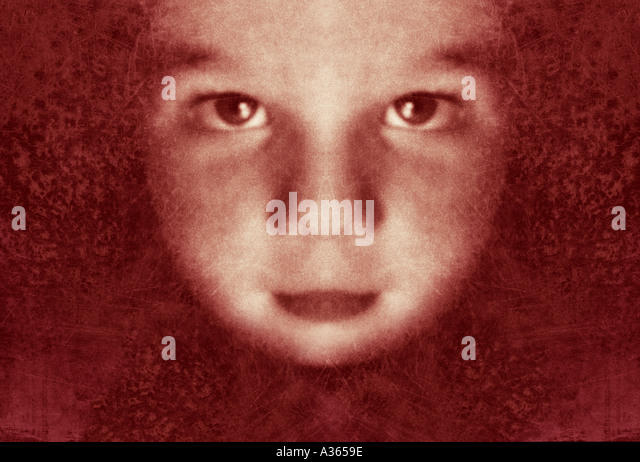 moon face - Stock Image