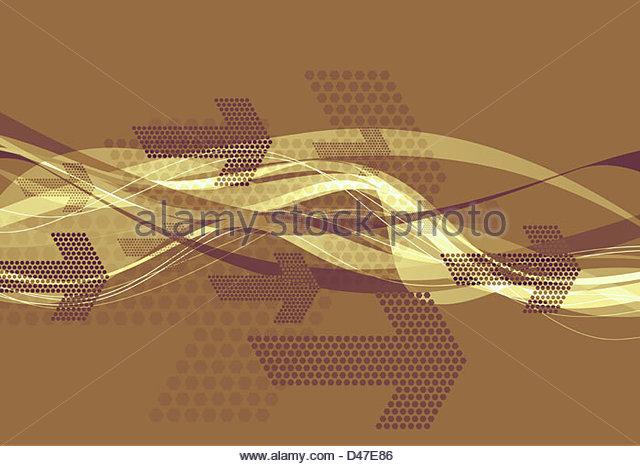 graphic arrows - Stock-Bilder