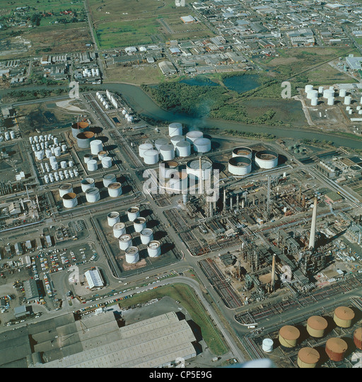 Australia - New South Wales - Sydney, industry, aerial view. - Stock-Bilder