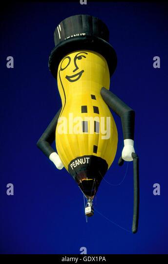 Planters peanut hot air balloon