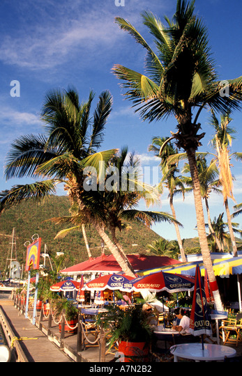 British Virgin Islands Tortola - Stock Image
