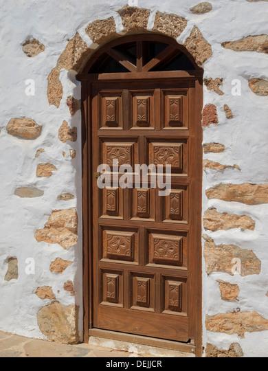 Biblioteca Municipal Antigua Fuerteventura Canary Islands Spain - Stock-Bilder