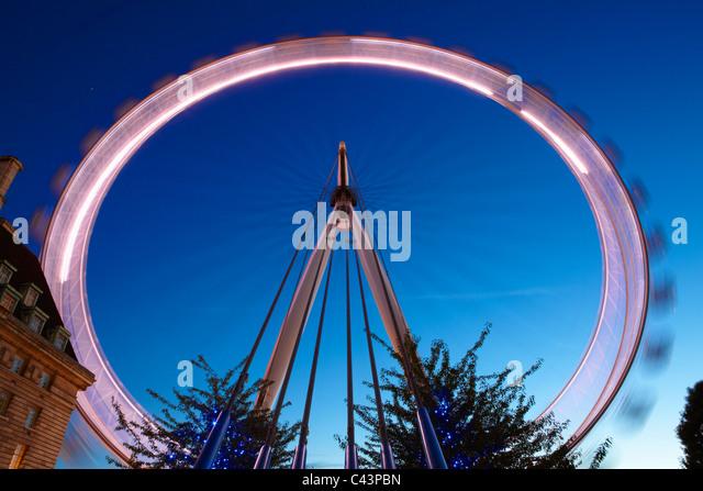London Eye; London; England - Stock-Bilder