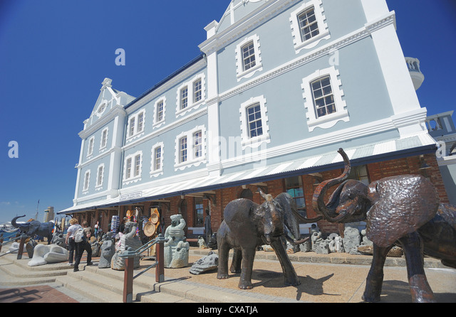 The Waterfront, Cape Town, South Africa, Africa - Stock Image