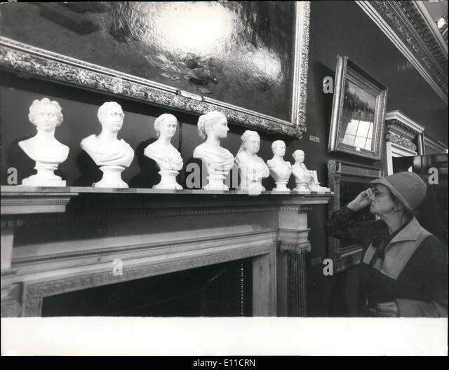 Mar. 03, 1977 - Royal art treasures from Victorian era dominate exhibition Royal Academy; The Royal Academy opened - Stock Image